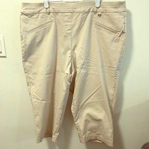 Penningtons Savvy Fit Capri Pants Size 20
